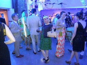 In the evening at the 21c Museum Hotel Derby Party