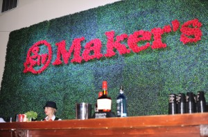 Maker's Mark rose bar at Maxim Fillies and Stallions
