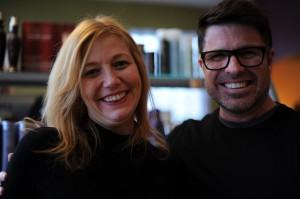 Pamela Vasey and Michael Shaun Corby