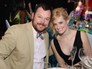"""Michael Gladis of """"Mad Men"""" and Beth Behrs of """"2 Broke Girls"""" @ Unbridled Eve Gala"""