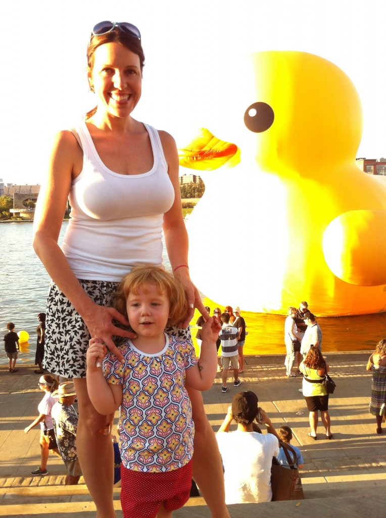From Heather Bond... Big Rubber Duck and Fiona